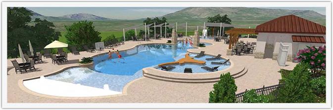 University Of Texas Golf Club Pool
